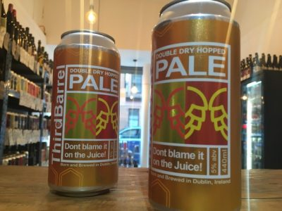 Third Barrel – Don't blame it on the Juice DDH Pale Ale