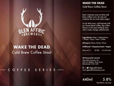 Glen Affric – Wake The Dead – Coffee Stout – PRE-ORDER
