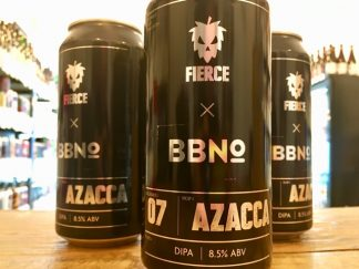 Fierce x Brew By Numbers - Azacca - DIPA