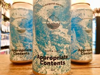 Cloudwater - Appropriate Contents - Piña Colada IPA