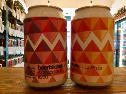 Beerbliotek x La Pirata - Azzaccattack - IPA