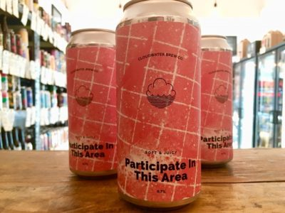 Cloudwater – Participate In This Area