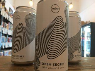 Mobberley Brewhouse - Open Secret - DIPA