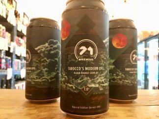 71 Brewing - Tarocco's Modern Life - Blood Orange Sour IPA
