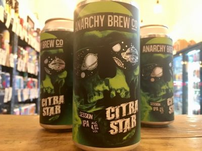 Anarchy Brew Co – Citra Star – Grapefruit, Lemon & Lime IPA