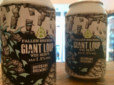 Fallen x Brisbane Brewing – Giant Loup – Wee Heavy