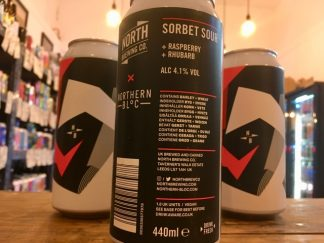 North x Northern Bloc - Sorbet Sour: Raspberry + Rhubarb