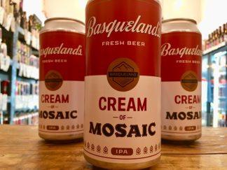 Basqueland Brewing - Cream of Mosaic - NEIPA