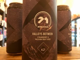 71 Brewing - Valleys Between - Strawberry & Passion Fruit Gose