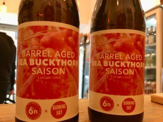 6 Degrees North x Burning Sky - Barrel Aged Sea Buckthorn Saison