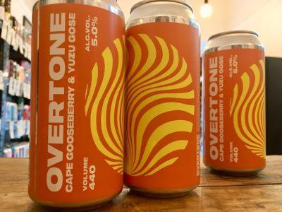 Overtone – Cape Gooseberry & Yuzu Gose – Sour