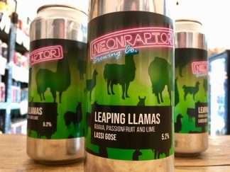 Neon Raptor - Leaping Llamas - Guava, Passion Fruit & Lime Lassi Gose