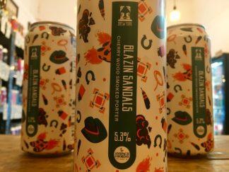Brew York - Blazin Sandals - Cherry Wood Smoked Porter