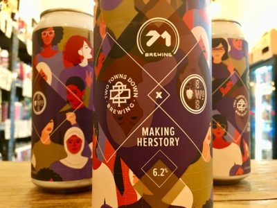 71 Brewing x Two Towns Down x Beers Without Beards – Making Herstory – Baltic Porter