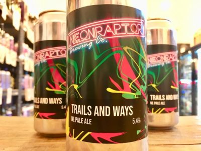 Neon Raptor – Trails & Ways – New England Pale Ale