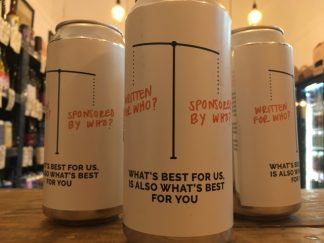 Cloudwater - What's Best For Us, Is Also What's Best For You - DIPA