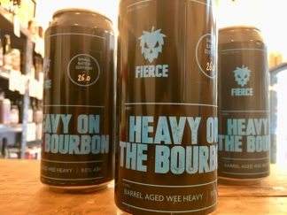 Fierce - Heavy On The Bourbon - Barrel-Aged Wee Heavy