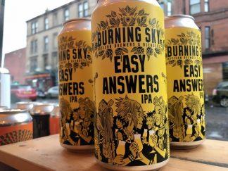 Burning Sky - Easy Answers - IPA