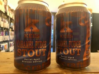 Kees - Caramel Fudge Stout (Barrel-Aged Oloroso Version) - Imperial Stout