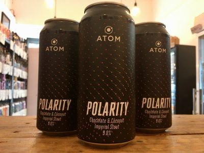 Atom – Polarity – Chocolate & Coconut Imperial Stout