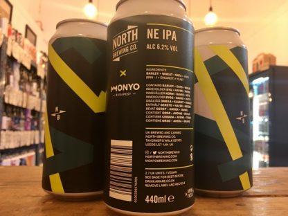 North Brewing x Monyo - New England IPA