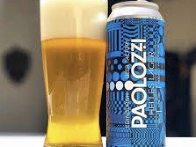 Edinburgh Beer Factory – Paolozzi – Lager – BIG can