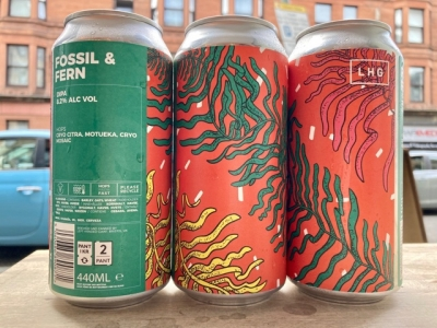 Left Handed Giant – Fossil & Fern – Double IPA