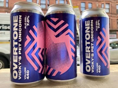 Overtone – Vicky`s Pet Unicorn – New England IPA