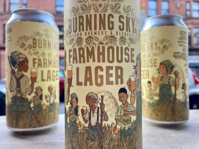 Burning Sky x Black Isle – Farmhouse Lager