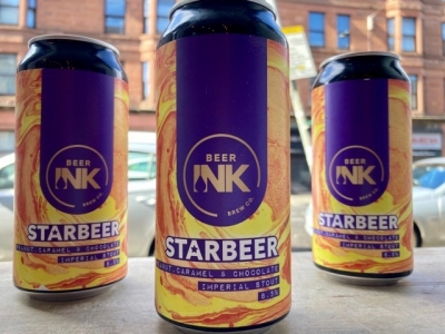 Beer Ink – Starbeer – Peanut Butter, Caramel and Chocolate Imperial Stout