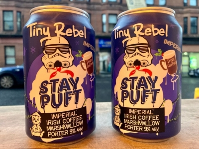 Tiny Rebel – Stay Puft – Imperial Irish Coffee Marshmallow Porter