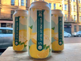 Brew York - When Lemons Give You Life - Lemon Meringue Milkshake IPA