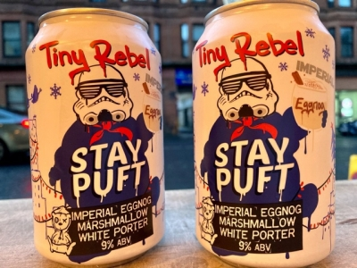 Tiny Rebel – Stay Puft – Imperial Eggnog Marshmallow White Porter