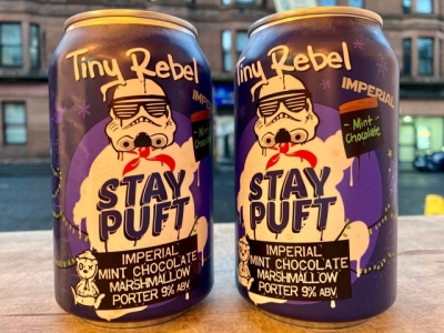 Tiny Rebel – Stay Puft – Imperial Mint Chocolate Marshmallow Porter