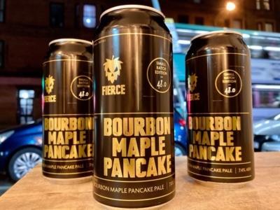 Fierce – Bourbon Maple Pancake — Barrel-Aged Pale Ale