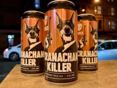 Fierce – Cranachan Killer – Raspberry Pale Ale