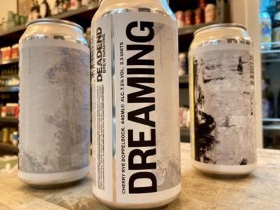 Dead End Brew Machine – Dreaming — Morello Cherry Rye Doppelbock