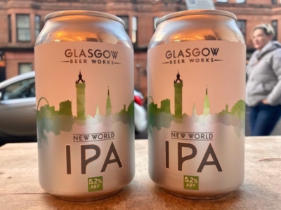 Glasgow Beer Works – New World IPA – can