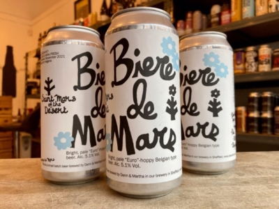 Saint Mars of the Desert – Biere de Mars – Golden Ale