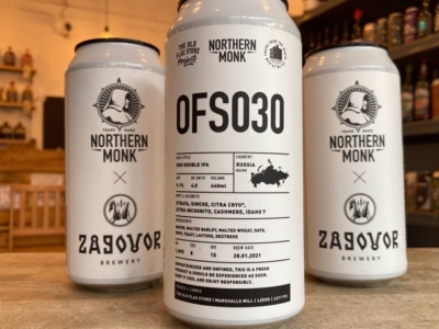 Northern Monk x Zagovor – OFS030 – DDH Double IPA