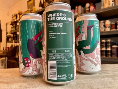 Left Handed Giant – Where's The Ground – Sour Cherry and Peach Sour