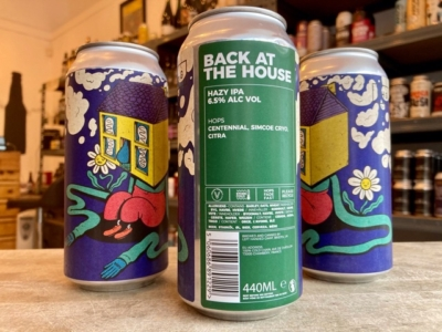 Left Handed Giant – Back At The House – Hazy IPA