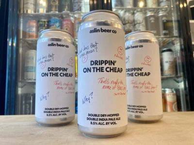 Aslin – Drippin' On the Cheap – Double IPA