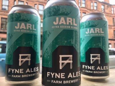 Fyne Ales – Jarl – Dry Hopped Blonde Ale