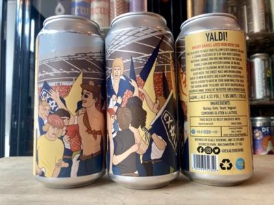 Exale – Yaldi! – Whisky Barrel-Aged Iron Brew