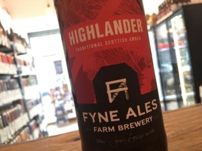 Fyne Ales – Highlander — Amber Ale