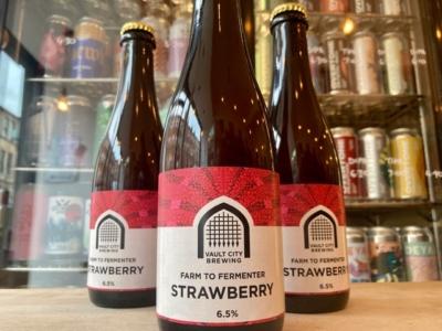 Vault City – Farm To fermenter – Strawberry Sour