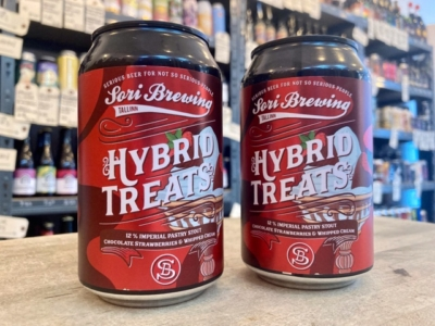 Sori – Hybrid Treats Vol 6 – Chocolate Dipped Strawberries & Whipped Cream – Imperial Stout
