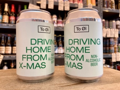 To Øl – Driving Home From X-mas – Low Alcoholic Pale Ale