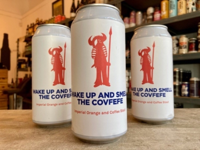 Pomona Island – Wake Up And Smell The Covfefe — Orange and Coffee Imperial Stout